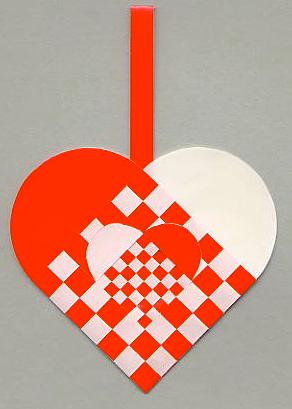 Kfum spejderne bad mig lave dette hjerte med deres nyelogo